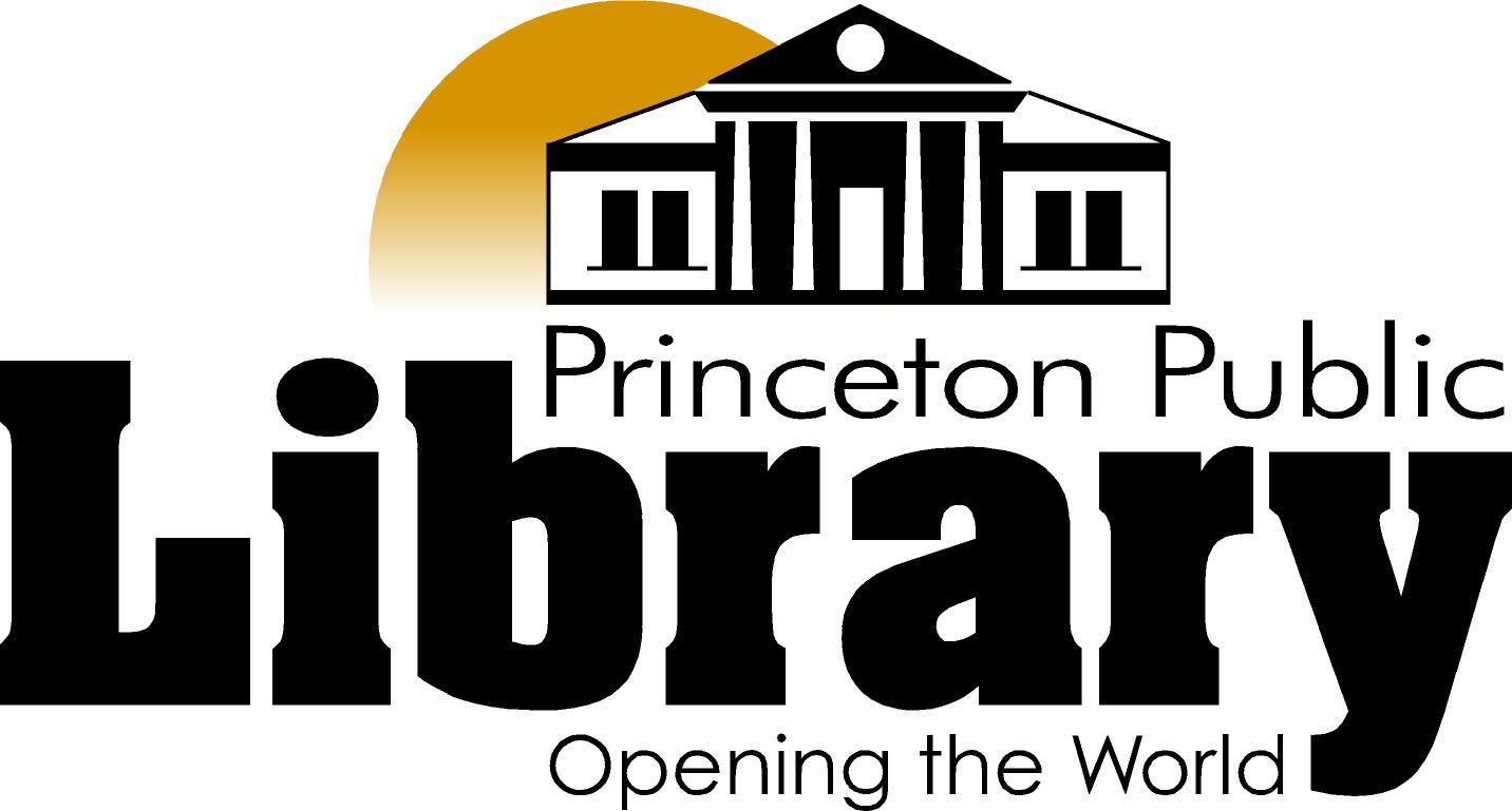 Princeton Public Library, Opening the world. Logo